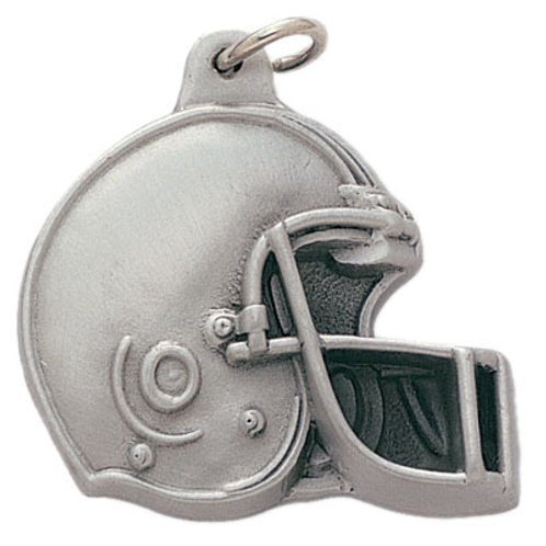Football Pewter Keychain