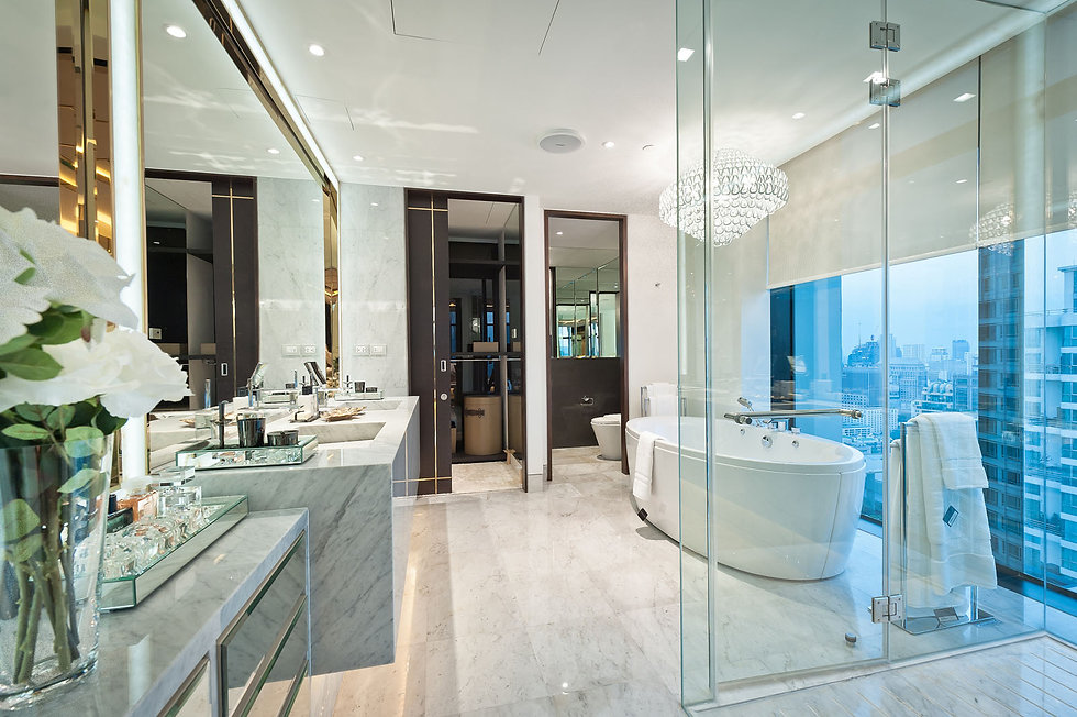 St. Regis Residence Master Bathroom