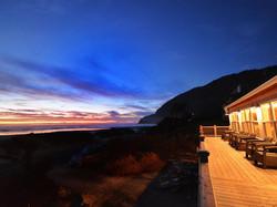 Historic Reed House Manzanita Beach At Night