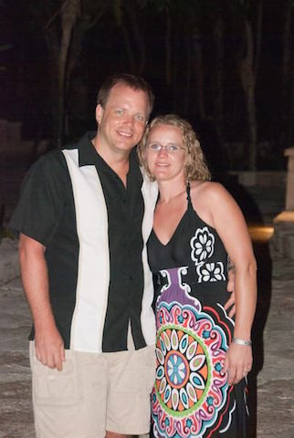 Danielle and Scot Johnson - Owners of Manzanita Beach Getaway
