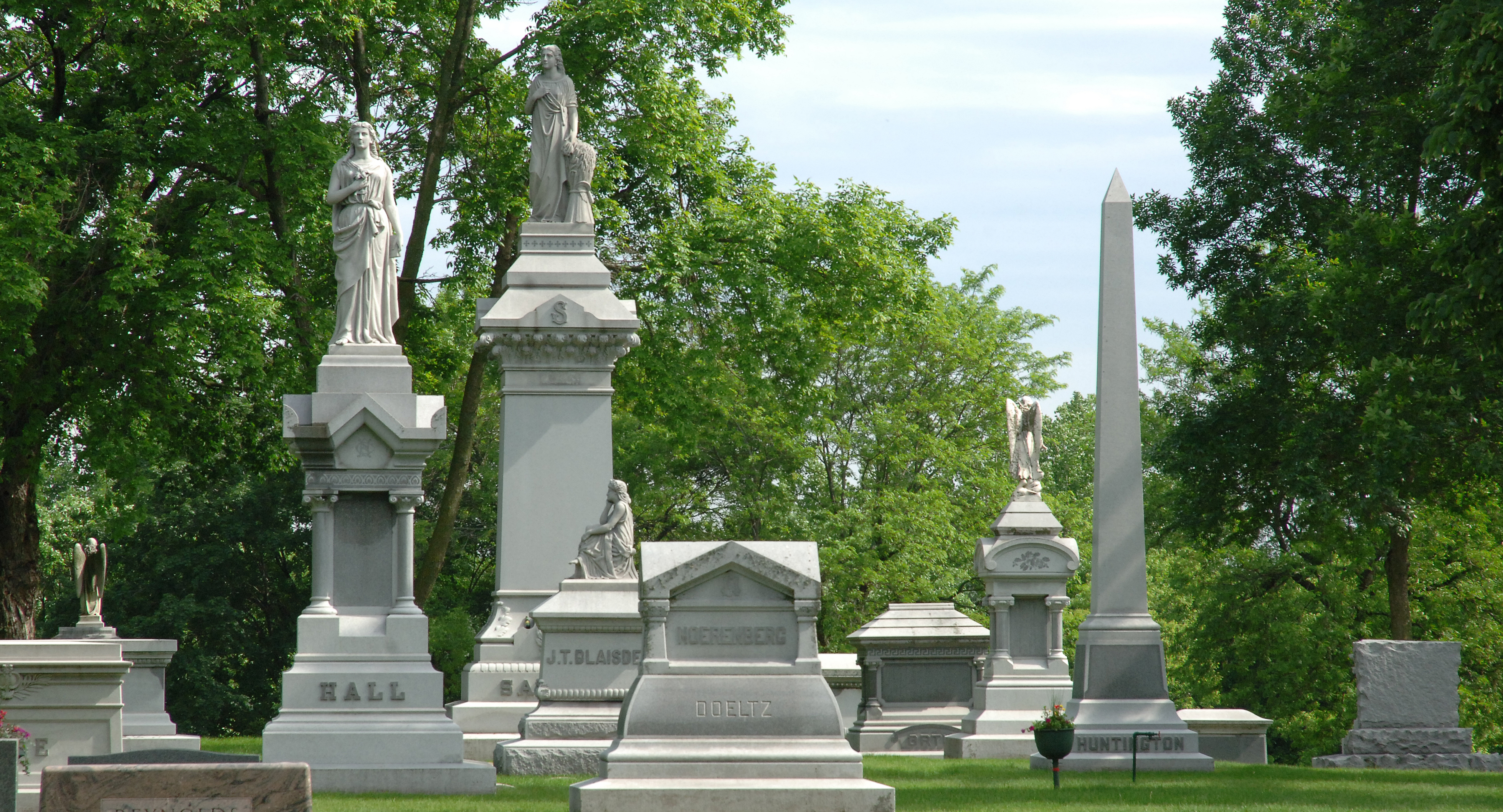 Monuments and Headstones