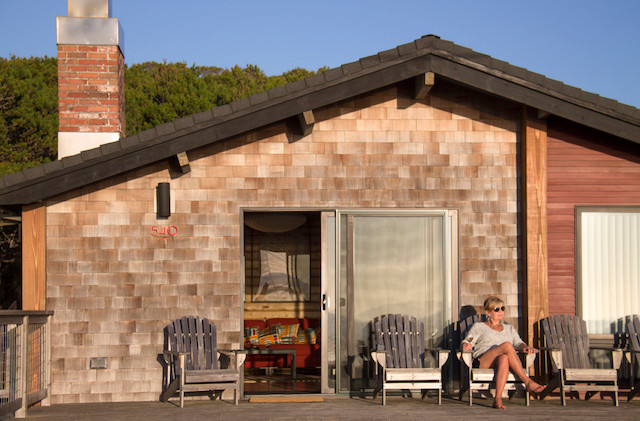 Oceanfront cabin, The Houses on Manzanita Beach