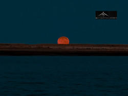 Beach sunrise moon_1