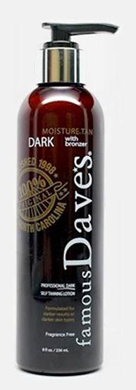 FAMOUS DAVE'S  self tanner dark bronzer
