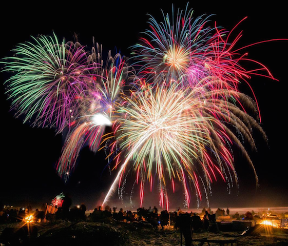 Manzanita Fireworks Event