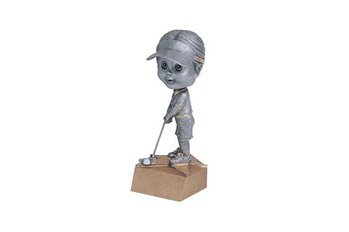 Golf Bobble Head