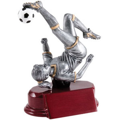 Silver Resin Soccer Troph