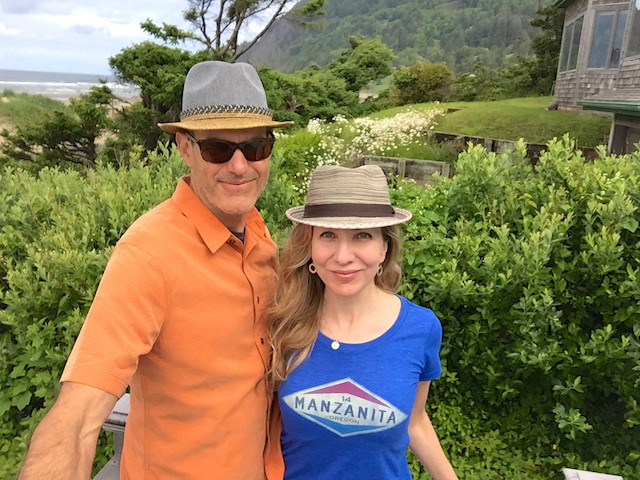 Laura Hillenbrand staying at the Historic Reed House, Manzanita, Oregon