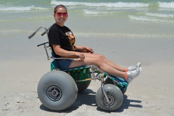 beach wheelchair rentals free