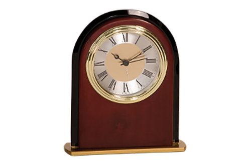 MF001 Mahogony finish clock