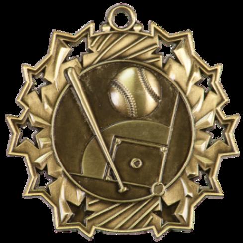 """2"""" Baseball Medal TS401"""