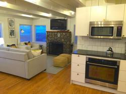 Manzanita Beach rental great room