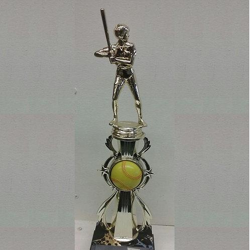 9 inch Softball Trophy
