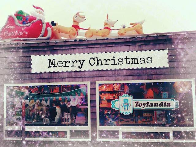 Merry Christmas from Manzanita Beach