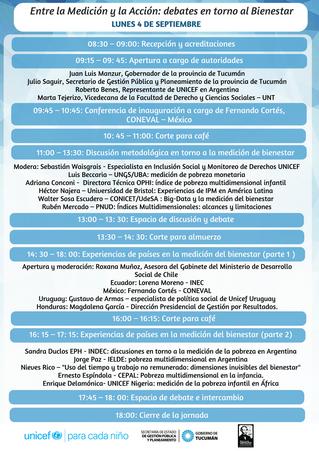 Habrá un seminario sobre la medición del bienestar y las políticas públicas