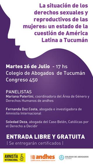 Los derechos sexuales y reproductivos en Tucumán