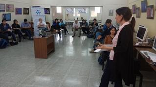 Estudiantes tucumanos ante el desafío de producir noticias en tiempo real