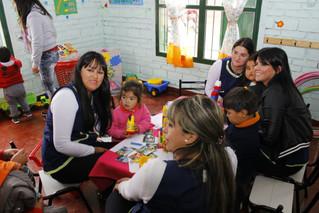 Nuevo Centro Infantil en Lules: Mientras los adultos trabajan, un equipo los cuida
