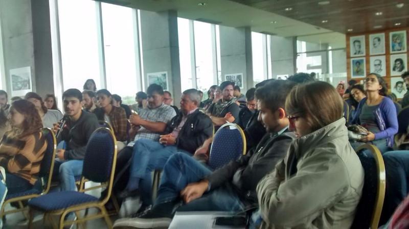 referentes de las radios miembro de FARCO durante la asamblea de Santa Fé