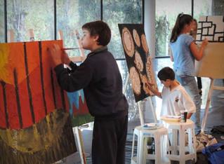 El desafío de acercar a los chicos al arte