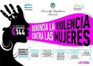 Diversos sectores se comprometen contra la violencia hacia las mujeres