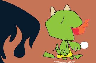 """Mamá e hija crearon """"El dragón sin fuego"""" y planean nuevas aventuras literarias"""