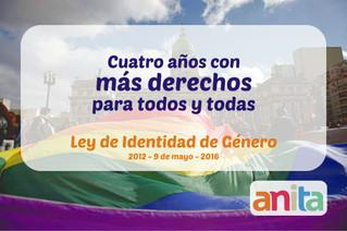 9 de mayo - Aniversario de la sanción de la Ley de Identidad de Género