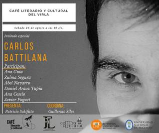 El poeta Carlos Battilana visitará Tucumán