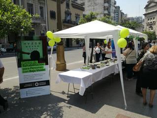 El Bastón verde tuvo su día en Plaza Independencia