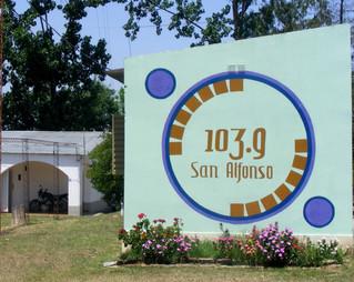 En Yerba Buena FM San Alfonso quiere volver al aire