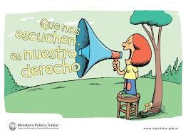 Todos los niños, niñas y adolescentes tienen derecho a ser escuchados