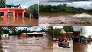 En Tucumán la solidaridad se queda cuando baja el agua