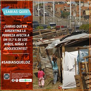 ¿Sabías qué la pobreza infantil en Argentina aumentó a su nivel más alto en la década?