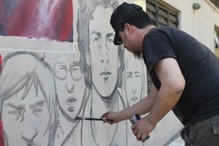 Los lápices siguen escribiendo…..y haciendo radio, stencil, murales, circo, lectura y mucho más