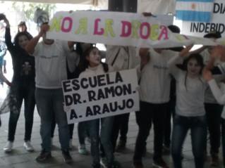 Jornada de prevención de adicciones en Plaza Independencia