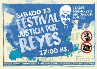 Festival de música por Miguel Reyes contra la impunidad
