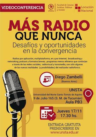 """""""Más Radio que nunca"""" invitó a pensar medios dinámicos"""