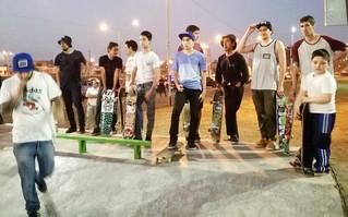 Lomas de Tafí tiene una pista de calidad para alegría de los skaters