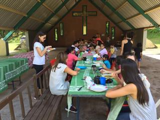 Niños y niñas de Casa Cuna disfrutaron un campamento en El Cadillal