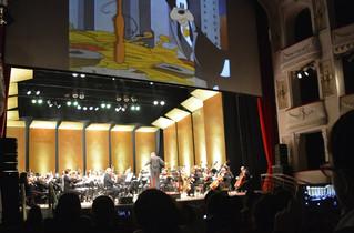 """Niños y niñas de escuelas disfrutaron de """"La Sinfónica y los dibujos animados"""""""