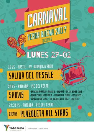 En Yerba Buena el carnaval tiene ritmo propio