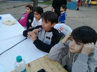 Chicos y chicas entrevistaron a la directora de niñez en Tafí Viejo