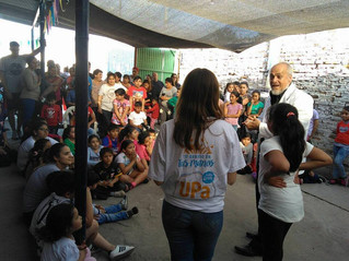 Niños y niñas de Villa Amalia celebraron a lo grande