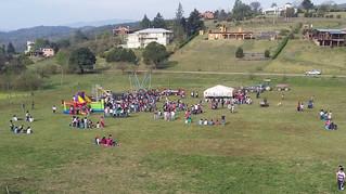 Raco festejó el día del niño con juegos y al aire libre