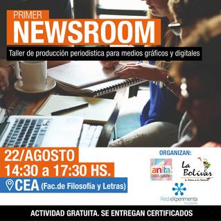 Realizarán un taller de producción periodística en tiempo real