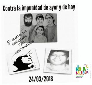Organizaciones Sociales en campaña contra la Violencia Institucional