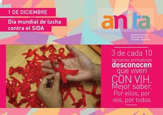 Elegí Saber en el Día Mundial de Lucha contra el SIDA