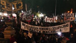 Personas con discapacidad marcharon en todo el país para recuperar sus derechos
