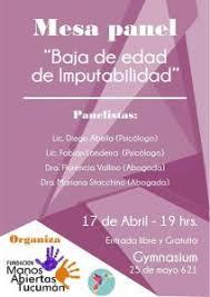 Organizaciones tucumanas le dicen NO a la baja de edad de punibilidad