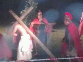 La Pasión de Cristo también se vivió en el Siambón